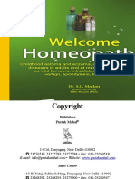 Welcome Homeopathy - Dr. S. C. Madan