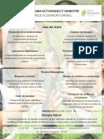 Programa 2° semestre Parque Alessandri