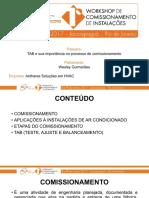 Palestra 8-TAB Importancia No Comissionamento-Wesley Guimaraes
