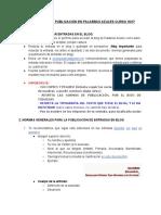 Bienvenida e indicaciones de publicación en PA 17-18.pdf