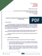 08-05-2015 Constitución Comisión CM para la concesión de plazas de gratuidad, curso 15-16