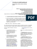Note de Curs Drept Penal Partea Generala I 13-14