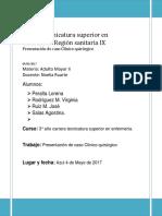 NOELIA CASO I Caso Clinico