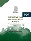 Instructivo Para Mantenimiento de Equipos (CE-In-01)