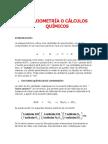 estequiometria quimica