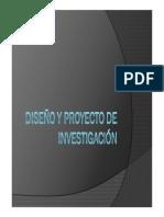 Diseño de Proyecto de Investigacion