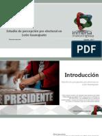 Encuesta Julio 2017 Leon Pre Electoral Resejec