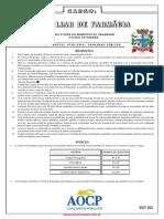 Prova Auxiliar Farmacia 301 308