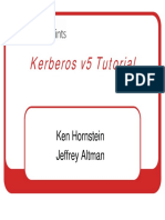 Kerberos Tutorial