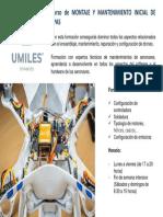 Curso Montaje y Mecánica Rpas Umiles Group