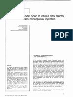 Bustamante - Une Methode Pour Le Calcul Des Tirants Et Des Micropieux Injectes