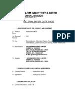 HCL MSDS.pdf