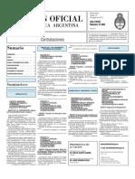 Boletin Oficial 10-08-10 - Tercera Seccion