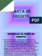 Carta de Credito Diapositivas