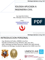 0a Presentacion Hidrologia UPC