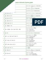 Equazioni Letterali Di I Grado