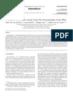 Lien, Rochat,Gay,Van der 2014_ Validación de la versión francesa de la escala pura de procrastinación.pdf