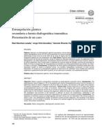 Fistula Gastrocutanea Con Herniacion Abdominal