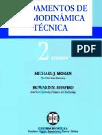 Fundamentos de Termodinamica Tecnica (Shapiro - Moran) - 2°  Edición