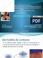 Dermatitis Medicina Interna III.