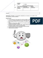 Prueba Parcial 2 Sistema Inmune 2017