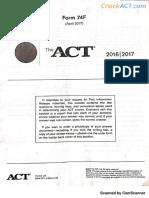 ACT 201704 Form 74F-www.crackact.com.pdf