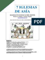 Las 7 Iglesias de Asia en Apocalipsis
