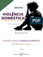e Book Mulheres Negras e Violência Doméstica Decodifancando Os Números Isbn