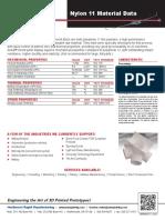 Nylon11 Material Data