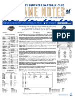 8.24.17 vs. MOB Game Notes