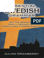 Swedish Grammar Pdf