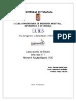 Informe Laboratorio Redes - Router Mikrotik - Heraldo Ubilla.pdf