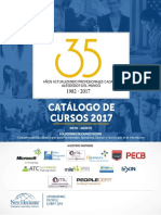 Catalogo MayoAgosto 2017