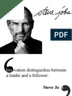 OB Apple- Steve Jobs
