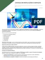 Resumo NR 10 - Segurança Em Serviços Elétricos.
