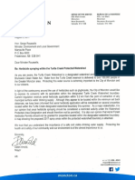 2017-08-02 Letter to Hon Serge Rousselle - Herbicide Spraying Regulation...