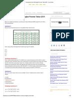 Pembahasan Soal KSM Tingkat Provinsi Tahun 2015 - Urip Dot Info