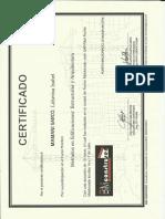 Certificado Metrados Isabel