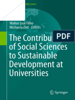 (World Sustainability Series) Walter Leal Filho, Michaela Zint (Eds.)-The Contribution of Social Sciences to Sustainable Development at Universities-Springer International Publishing (2016)