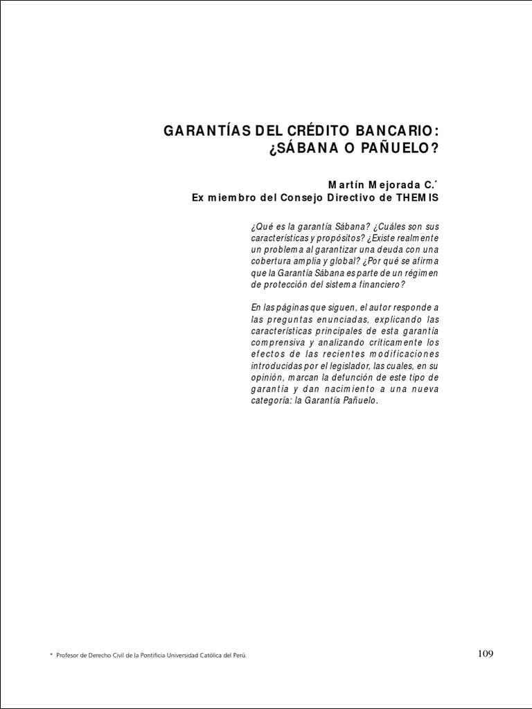Dialnet-Garantia sábana.pdf