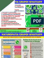 Naturopatia Grupos en Whatsapp Actualizado 2017