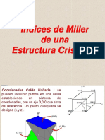 Indices de Miller - Estructura Cristalina