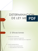 Determinación de Ley Media-GEOESTADISTICA