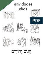 Dibujos Colorear Fiestas Judias