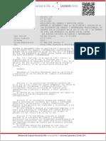 DECRETO 109 de Trabajo de 1968 (Reglamento de Calificación de Accidentes Del Trabajo y Enfermedades Profesionales)