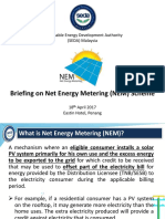 SEDA Briefing on the Mechanism of NEM
