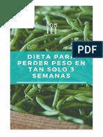 Dieta Para Perder Peso en Poco Tiempo, Garantizado.