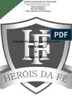 Trabalho Herois Da Fe