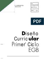 Diseño Curricular. EGB rimer Ciclo.pdf