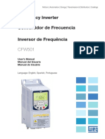 WEG Cfw501 Manual Do Usuario 10001991016 Manual Portugues Br
